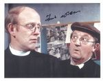 FRANK WILLIAMS DAD'S ARMY 8 BY 10 ORGINAL SIGNED AUTOGRAPH 8427